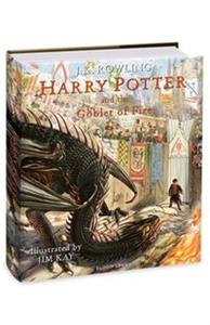 Harry Potter and the Goblet of Fire: Illustrated