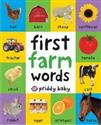 First 100 Soft to Touch Farm Words - Priddy Roger