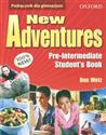 New Adventures Pre-intermediate Student's Book Gimnazjum - Ben Wetz
