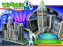 Wrebbit Puzzle 3D New York Collection Financial 925 -