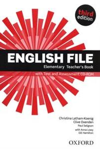 English File Elemenary Teacher's Book +CD Szkoły ponagdimnazjalne