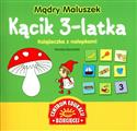 Mądry Maluszek Kącik 3-latka Książeczka z nalepkami