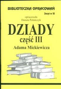 Książki Podobne Do Biblioteczka Opracowań Dziady Część Iii